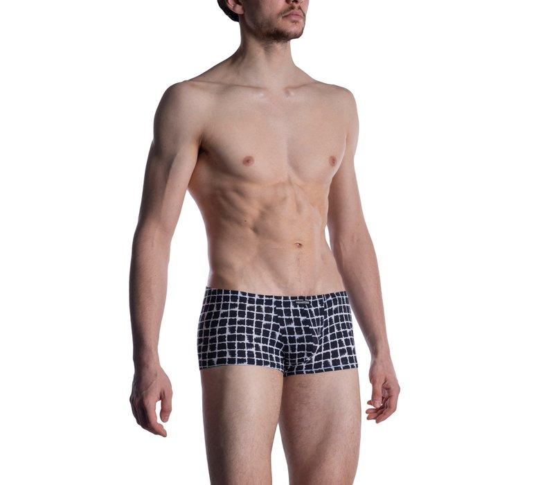 MANSTORE M800 Micro Pants White-Black