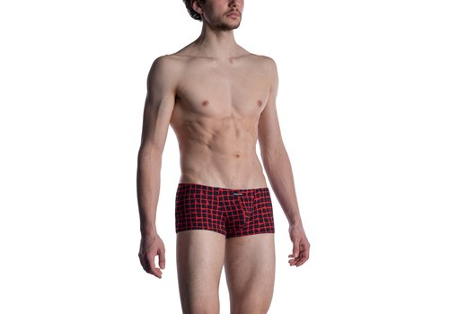 MANSTORE M800 Micro Pants Red-Black