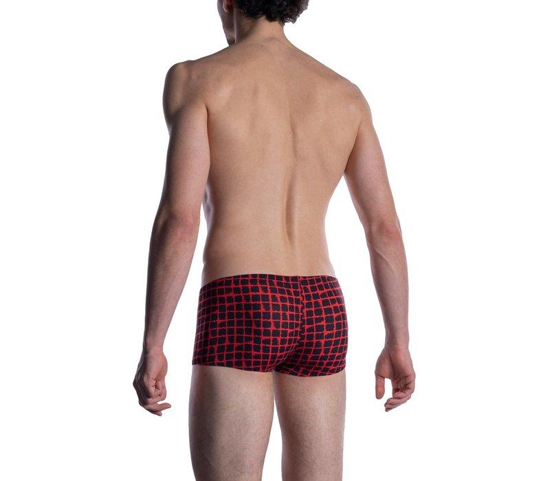 MANSTORE M800 Micro Pants Red-Black