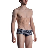 MANSTORE M800 Hot String Pants White-Black
