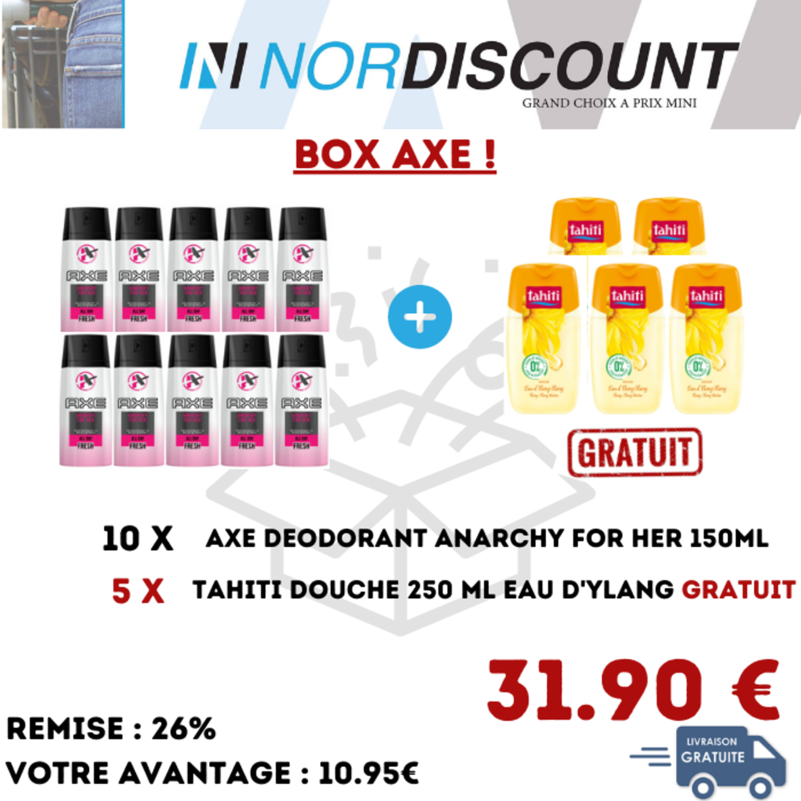 Axe Box 05 Axe femme