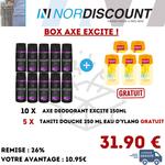 Axe Box 10 Axe Excite