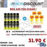Axe Box 11 Axe You Clean