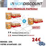 Pringles Box 14 Pringles Paprika