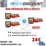 Pringles Box 15 Pringles Hot & Spicy