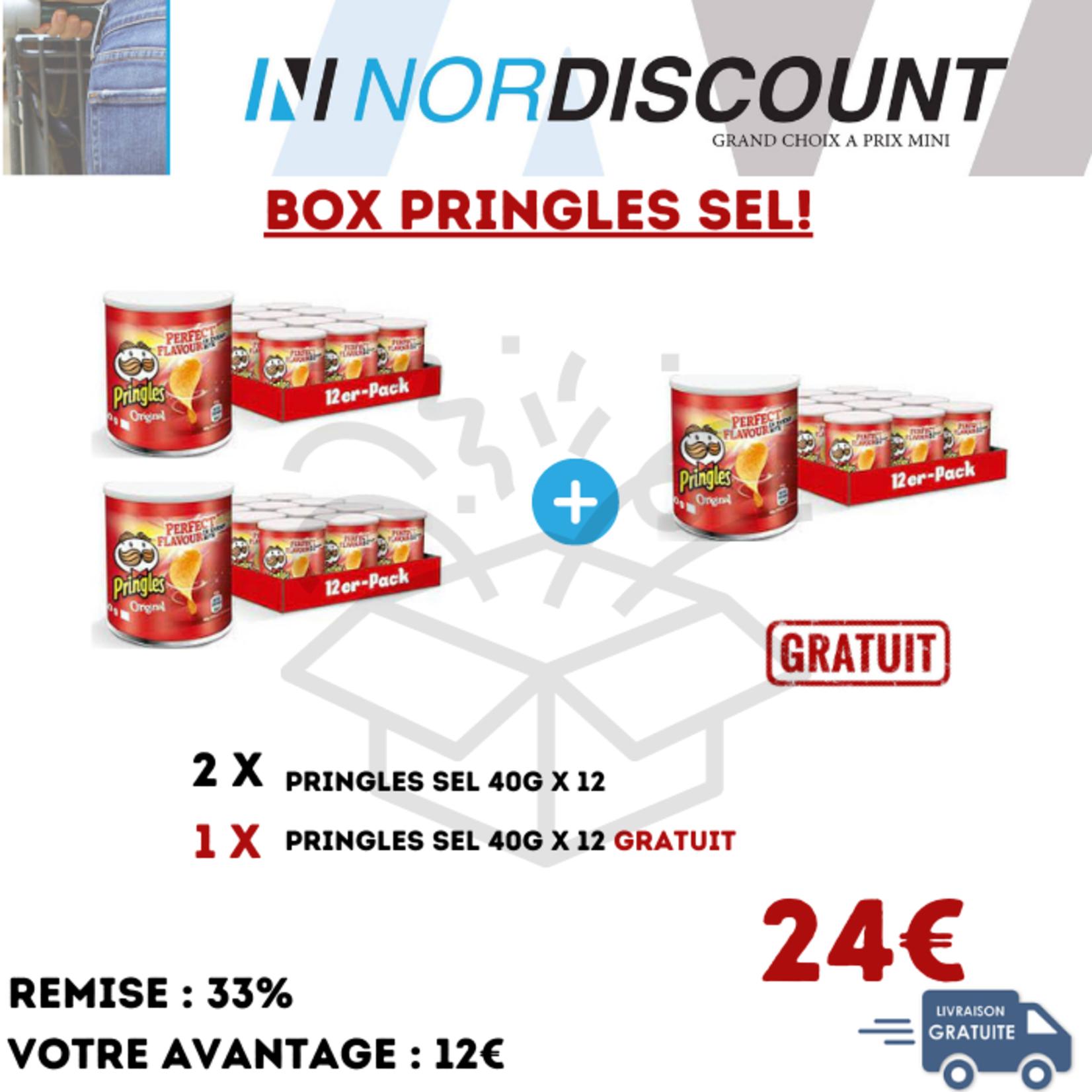 Pringles Box 13 Pringles Sel