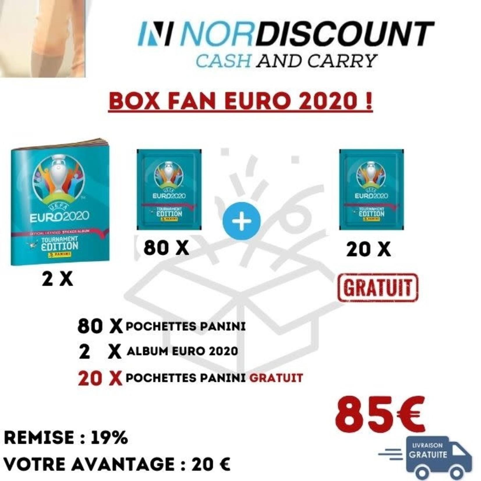 Panini BOX 17 Fan Euro 2020