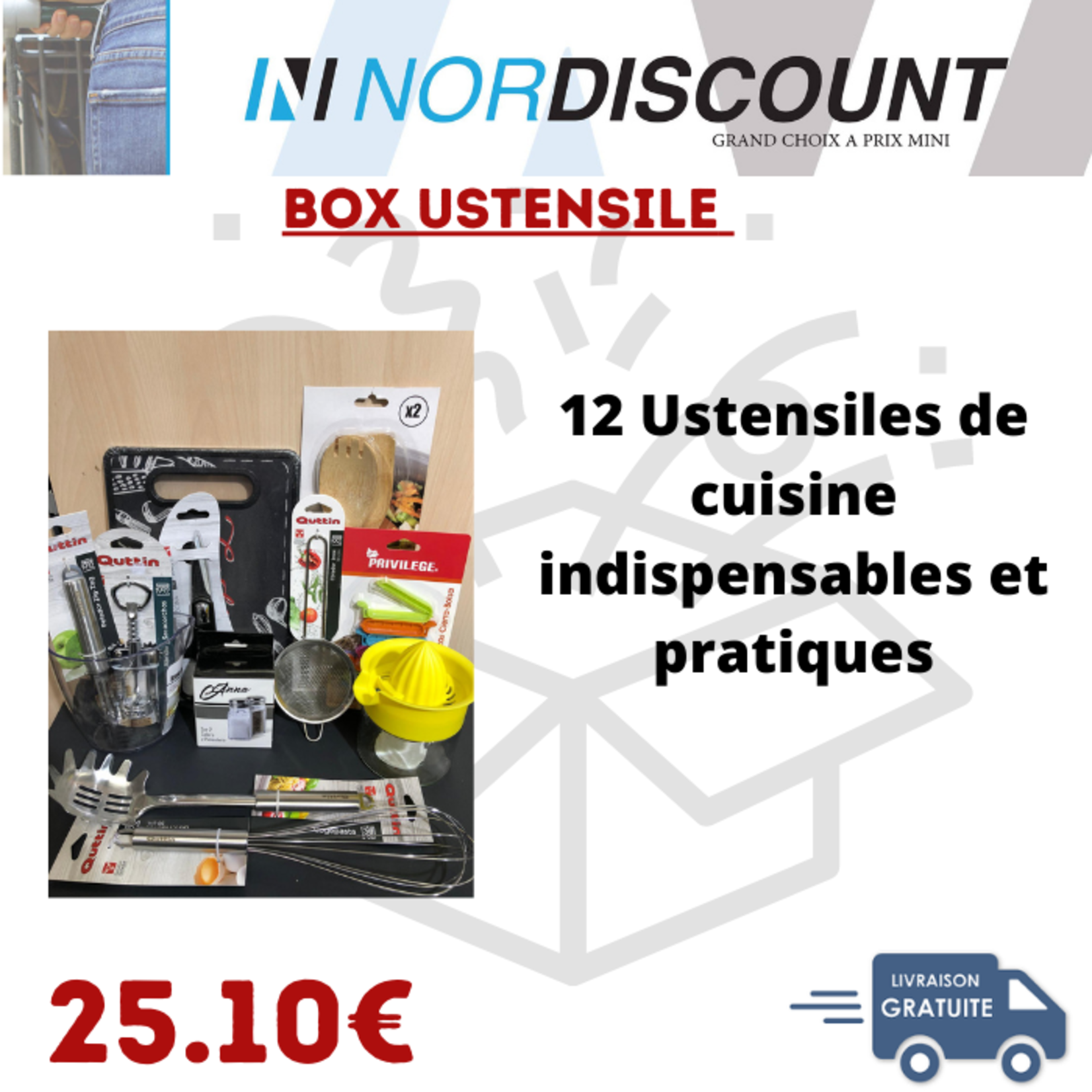 Box ustensile