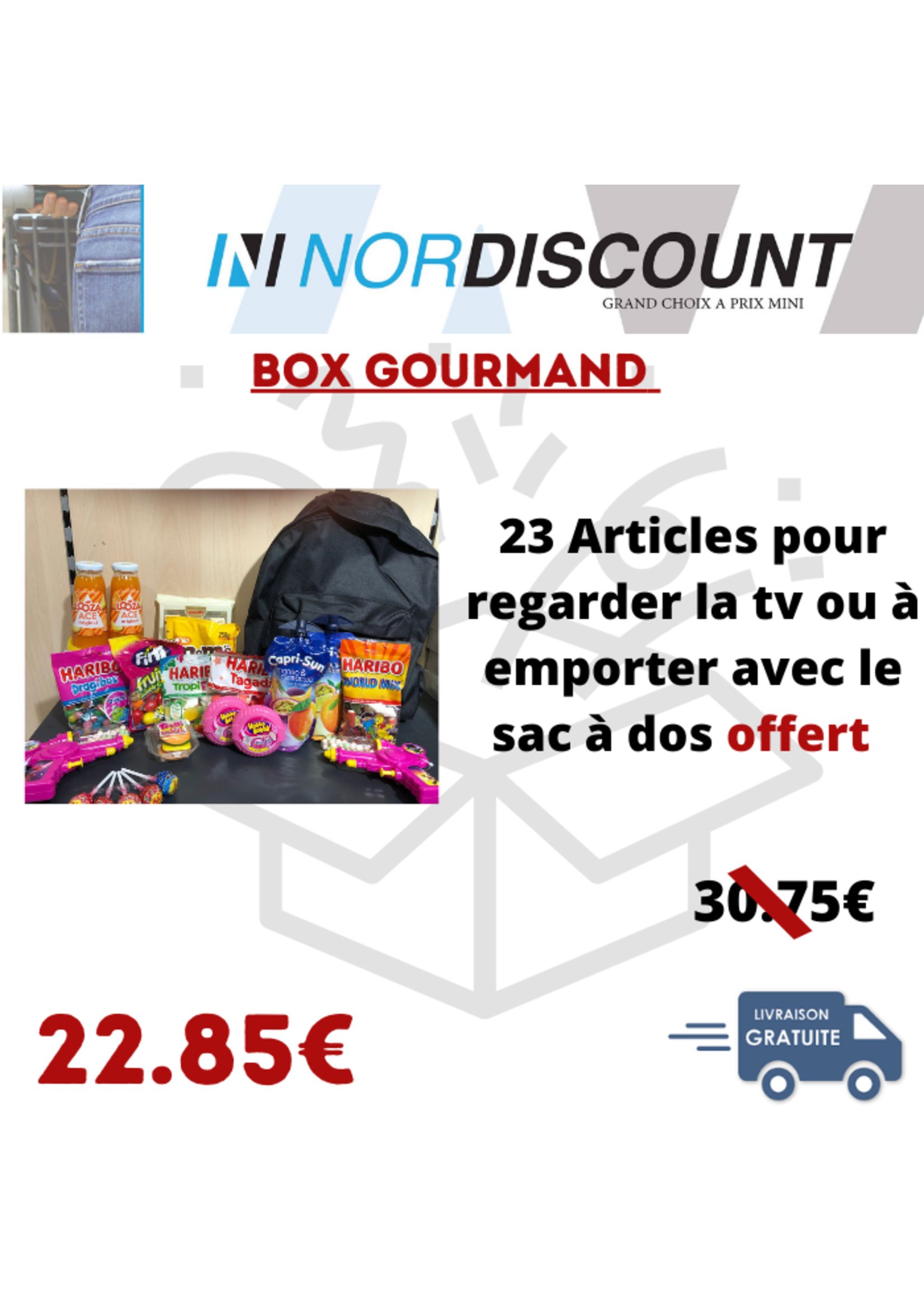 box gourmand