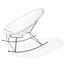 Acapulco rocking chair white
