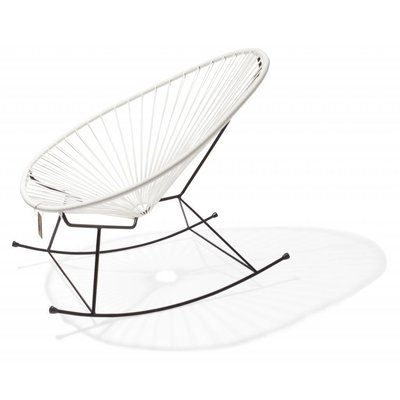 Acapulco Rocking Chair in white