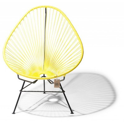 Acapulco Chair in Canary Yellow
