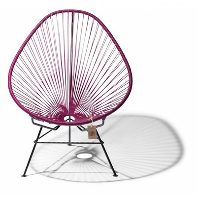 Acapulco Chair in violet wine