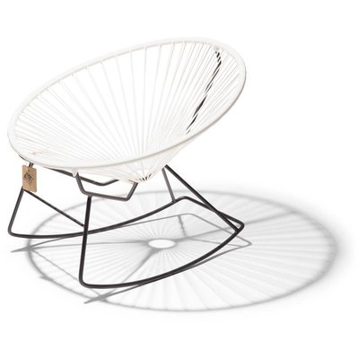 Condesa Rocking Chair in White