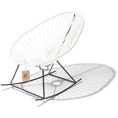 Acapulco Kids Rocking Chair in White
