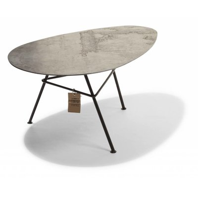 Table Zahora corten steel