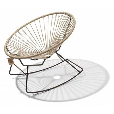Condesa Rocking Chair in Beige