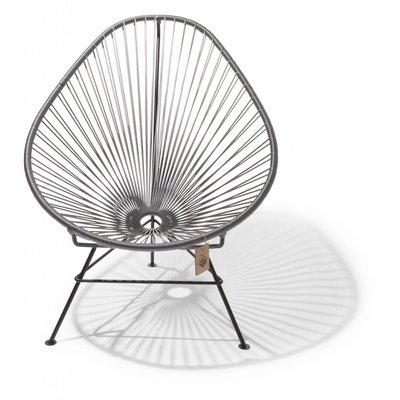 Acapulco Chair in silver-grey