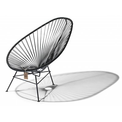 Acapulco Kids Chair in black - a small classic!