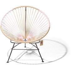 Condesa Chair beige & pastel pink