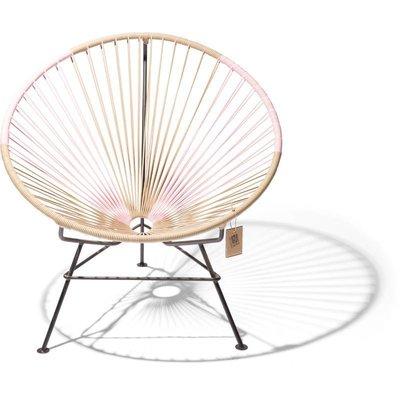 Condesa Chair Bicolor Beige & Pastel Pink