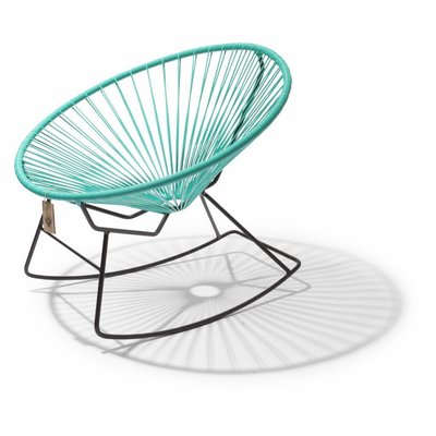 Condesa Rocking Chair in Turquoise
