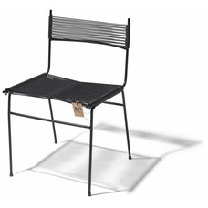 Polanco Dining Chair in Black (Made w/ Recycled PVC)
