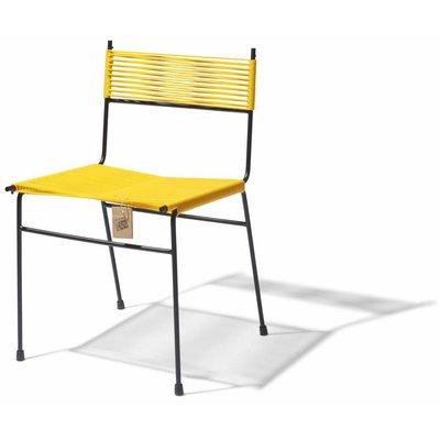 Polanco dining chair yellow