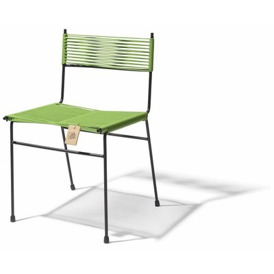 Polanco Dining Chair in olive green