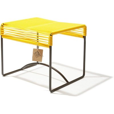 Xalapa stool or footrest yellow