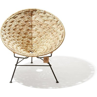 Condesa Chair Tule With Natural Reed