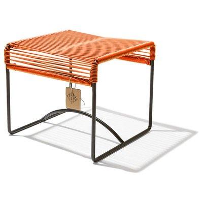 Xalapa stool or footrest orange