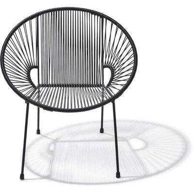 Luna Dining Chair in Black
