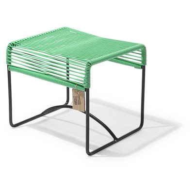 Xalapa Stool or Footrest in Apple Green
