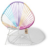 Acapulco Kids Chair Unicorn, White Frame