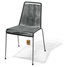 Mola stackable chair Oxford grey
