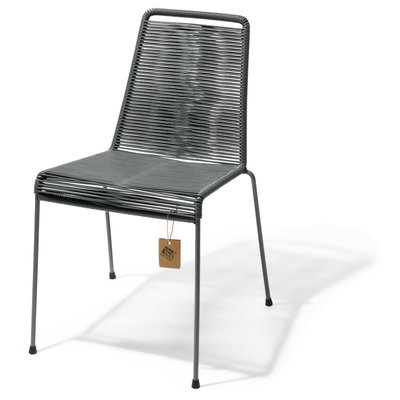 Mola Stackable Chair in Oxford Grey