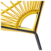 Luna Dining Chair in Yellow