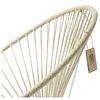 Condesa Hemp Chair100% natural with white frame