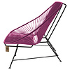 Acapulco Sofa in Violet Wine, Suitable for 2-3 People