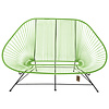 Acapulco Sofa in Apple Green, Suitable for 2-3 People