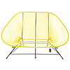 Acapulco Sofa in Canary Yellow, Suitable for 2-3 People