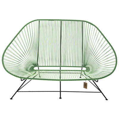 Acapulco Sofa in Dark Green, Suitable for 2-3 People
