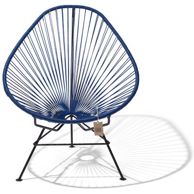 Acapulco Chair in Navy Blue