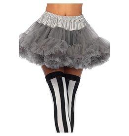leg avenue petticoat grijs