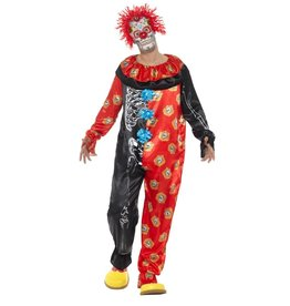 Smiffys day of the dead clown