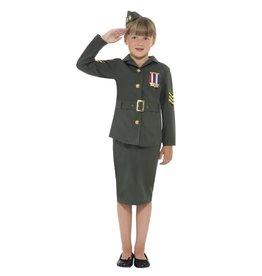 Smiffys WW2 army girl