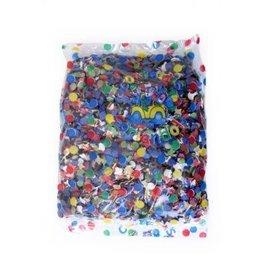 confetti 100gr diverse kleuren