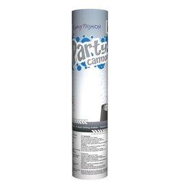 Funny Fashion confetti shooter 20 cm zilver