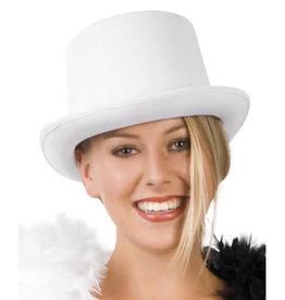 boland Witte hoge hoed